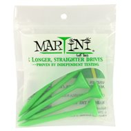 Martini 3 1/4 Green Golf Tees