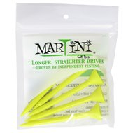 Martini 3 1/4 Yellow Golf Tees