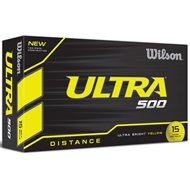 Wilson Ultra 500 Yellow Golf Ball