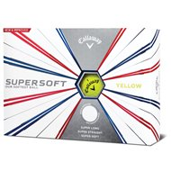 Callaway Supersoft Yellow Golf Ball