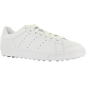 Adidas Adicross Classic Spikeless Golf Shoes White Black Size 8 3balls Com