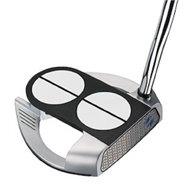Odyssey Works 2-Ball Fang Versa Lined Superstroke Putter