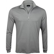 Greg Norman Heathered 1/4 Zip Mock Outerwear