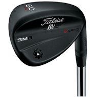 Titleist Vokey SM6 Jet Black S Grind Wedge