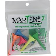 Martini Hybrid Multi 6-Pack Golf Tees