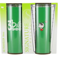 Signature 3Balls.Com 16Oz 2-Pack Traveler Tumbler Home/Office