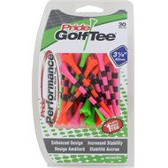 """Pride Evolution Striped 3 1/4"""" 30 Count Golf Tees"""