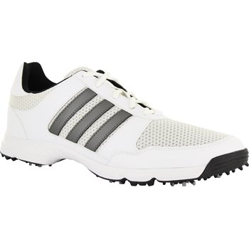 Adidas Tech Response Golf Shoes White Dark Silver Metallic Core Black Size 14 3balls Com