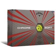 Callaway Chrome Soft X Yellow Golf Ball