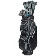 Tour Edge Moda Silk Black/Sea Green Club Set