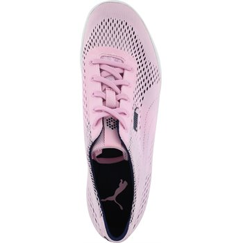 low price clearance prices greatvarieties Puma MonoLite Cat Woven Women Spikeless Golf Shoes - Lilac Sachet/Peacoat -  Size: 6.5Puma MonoLite Cat Woven Spikeless