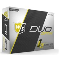 Wilson Staff Duo Soft Optix Yellow Golf Ball