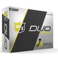 Wilson Staff Duo Soft Optix Yellow Golf Ball