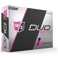 Wilson Staff Duo Soft Optix Pink Golf Ball