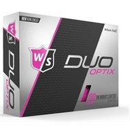 Wilson Staff Duo Soft Optix Pink Golf Ball