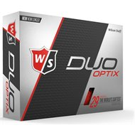 Wilson Staff Duo Soft Optix Red Golf Ball