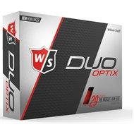 Wilson Staff Duo Soft Optix Red Golf Ball