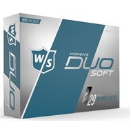 Wilson Staff Duo Soft Optix White Golf Ball
