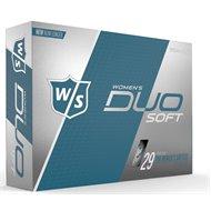 Wilson Staff Duo Soft Optix White Golf Ball