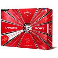 Callaway Chrome Soft Truvis Red Golf Ball