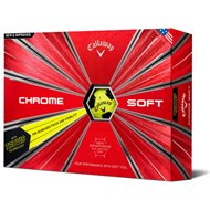 Callaway Chrome Soft Yellow Truvis Black Golf Ball