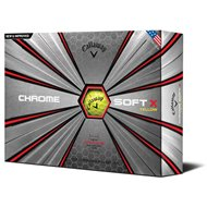Callaway Chrome Soft X 18 Yellow Golf Ball