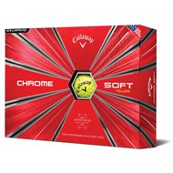 Callaway Chrome Soft 18 Yellow Golf Ball