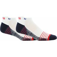 FootJoy Techsof Tour Flag 2-Pack Socks