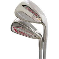 Cobra King F8 Silver Raspberry Iron Set