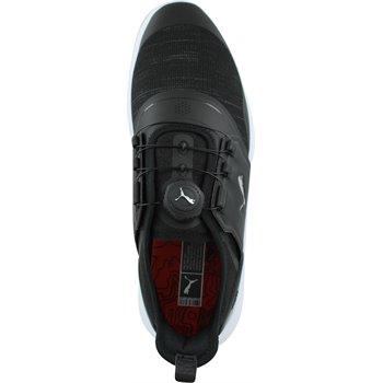 Puma Ignite Nxt Disc Golf Shoes Black Silver White Size 10 5 3balls Com