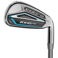 Cobra King F8 Combo Silver Blue Iron Set