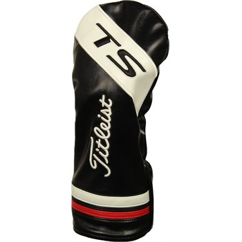 Used Titleist TS 2 Driver Headcover - Black/White/RedTitleist TS 2 Driver  Headcover