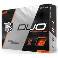 Wilson Staff Duo Pro Matte Orange Golf Ball
