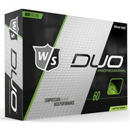 Wilson Staff Duo Pro Matte Green Golf Ball