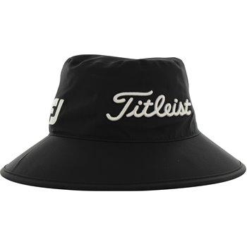 37c273352 Titleist StaDry Performance Bucket Hat - Black/White Size: S/MTitleist  StaDry Performance Headwear