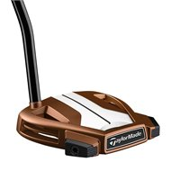 TaylorMade Spider X Copper/White Single Bend Putter