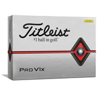 Titleist Pro V1x Yellow Golf Ball