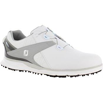 Footjoy Pro Sl Boa Spikeless Golf Shoes White 3balls Com