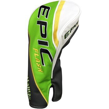 Callaway Epic Flash Driver Headcover - Green/Grey/GoldCallaway Epic Flash  Driver Headcover