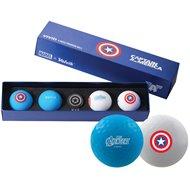 Volvik Vivid Marvel Captain America Golf Ball