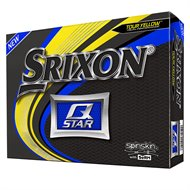 Srixon Q-Star 5 Tour Yellow Golf Ball