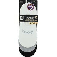 FootJoy Prodry Ultra Low Cut 3 Pair Socks