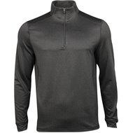 Greg Norman Heathered Herringbone ¼ Zip Mock Outerwear