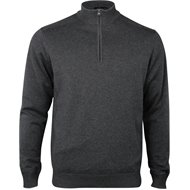 Greg Norman Performance Blend Lined 1/4 Zip Wind Sweater