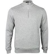 Greg Norman Performance Blend Lined 1/4 Zip Wind Sweater