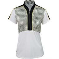 Greg Norman ML75 Driver Cropped Zip Polo Shirt