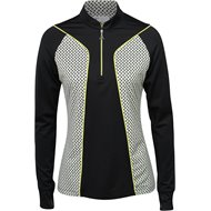 Greg Norman Solar XP Grace L/S 1/4 Zip Polo Shirt