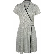 Greg Norman Florence Cropped Sleeve Faux Wrap Dress Dress
