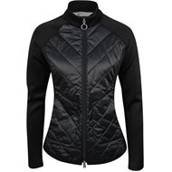Greg Norman Chevron Quilted Cire Outerwear