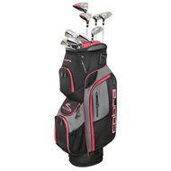 Cobra XL 13-Piece Black/Red Club Set